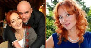 Тарасова с мужем